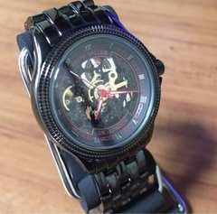 在庫処分?キースバリー 腕時計 自動巻き BS011-BRD レッド