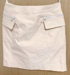 プロフィール*ベージュスカート 38サイズ