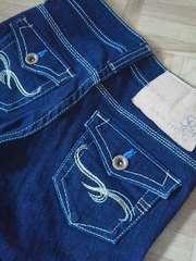 サムシング刺繍がオシャレなジーンズ/送料360円