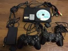 PS2 SCPH70000 本体 一式セット メモリーカード ソフト付き