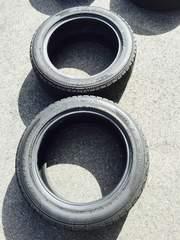 中古スタッドレスタイヤ DUNLOP225/55R18 2本セット