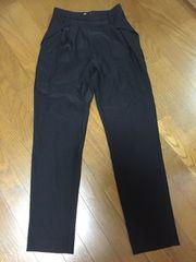 新品☆MOUSSY☆パンツ☆黒/ブラック☆サイズ1☆マウジー