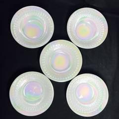 ファイヤ—キング ?アメリカ製 耐熱硝子ボウル5枚セット
