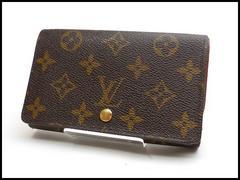 ルイヴィトン モノグラム トレゾール L型ZIP 二つ折財布 M61730