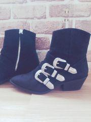 H&M♪アンクルブーツ♪40サイズ(日本サイズ25.5センチ)