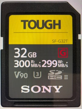 ■SONY(ソニー) TOUGH SF-G32T [32GB]