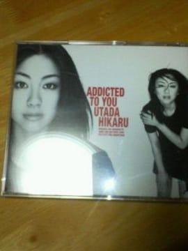 宇多田ヒカル シングルCD ユーズド ADDICTED TO YOU
