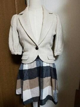 ☆Banner Barrettジャケット&Apweiser-richeスカートSET☆おまけ付き