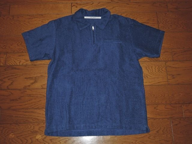 新品FUTURE PRIMITIVEポロシャツSパイル地系NHC  < 男性ファッションの