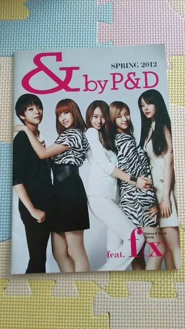 &byP&D 2012カタログ f(x)  < 本/雑誌の