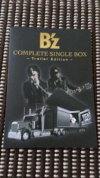 B'z COMPLETE SINGLE BOX【Trailer Edition】案内用紙