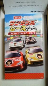 WONDA×AKB48 ワンダフルレース 第5回当選プロジェクター クロック 前田敦子