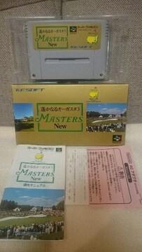 美品(中古) スーパーファミコン 遥かなるオーガスタ3(ゴルフ) マスターズ