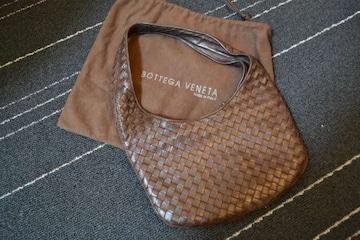 ボッテガヴェネタ レザーミニハンドバッグ イントレ正規品