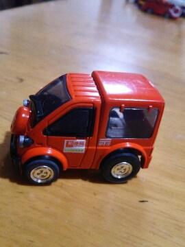 チョロQ. 郵便車。