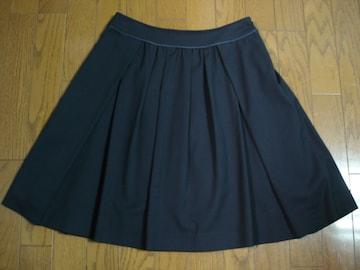 クリアインプレッション シルエットが綺麗なフレアースカート