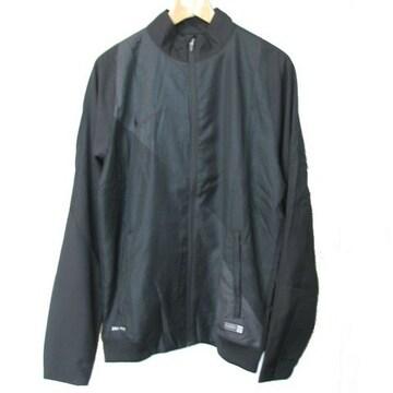 新品●送料無料◆ NIKE 黒サッカーウインドジャケット(L)