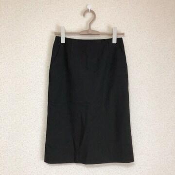 エニィファム新品 大人可愛いスリット入りタイトスカート オンワード樫山♪