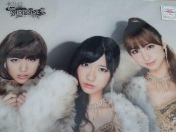 【パチンコ AKB48 M04 涙に沈む太陽 クリアファイル】未開封品