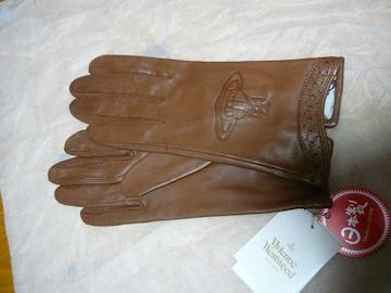 ヴィヴィアンウエストウッド革手袋オーヴ