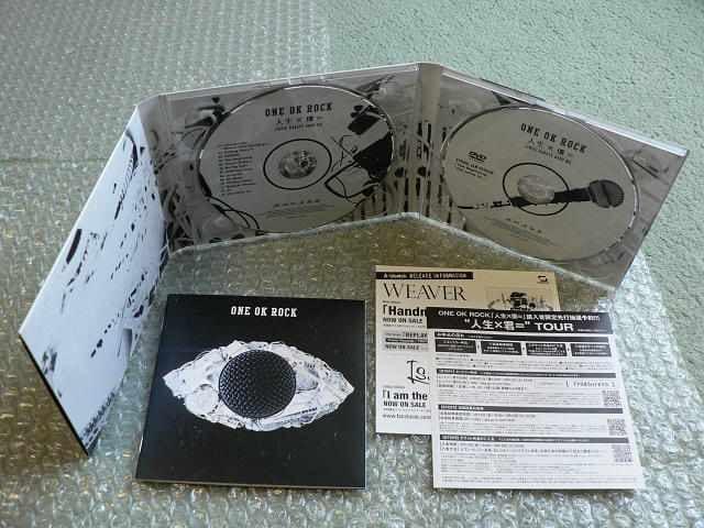 ONE OK ROCK『人生×僕=』初回限定盤【CD+DVD】他にも出品中 < タレントグッズの