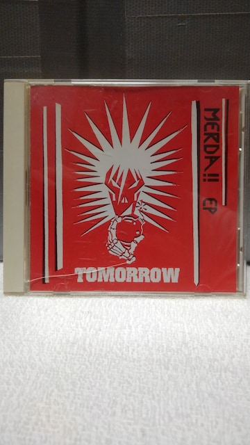 "TOMORROW""MERDA!!EP""  < タレントグッズの"