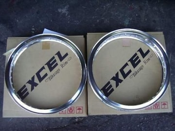 (8511)CB250Tホーク RK EXCELH型ワイドリムCB400TCB400N