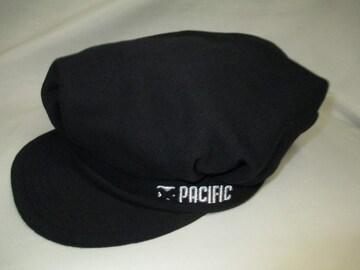 PACIFIC シンプルキャスケット帽子 黒 新品