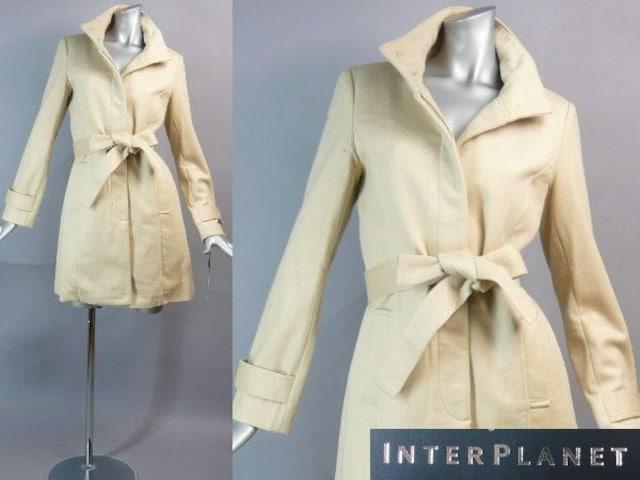 【新品★9号】インタープラネット♪綺麗コート★定価35,700円  < 女性ファッションの