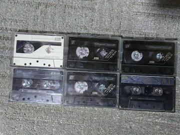 中古使用済カセットテープ AXIA アクシア 46 64 54 74 90 ハイポジ メタルポジ