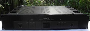 RAMUSA/WP-9100ステレオ大パワーアンプ中古完動品No3
