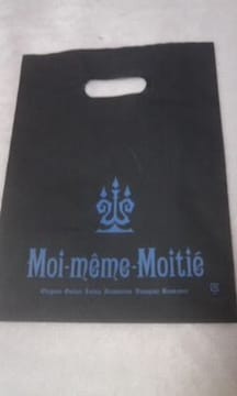 送料半額♪モワメ-ム.モワティェのミニSHOP袋バック♪ヽ(´▽`)/♪♪♪