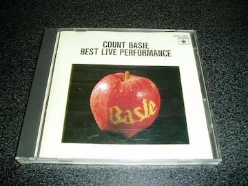 CD「カウント・ベイシー/ベスト・ライヴ・パフォーマンス」86年