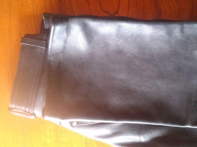 ★ハーレーダビットソンの黒革パンツで良品です☆ < ブランドの
