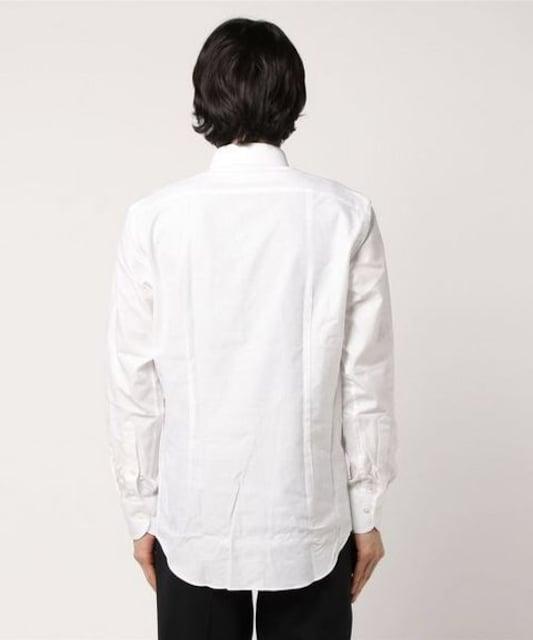 定価7,452円 100%カラミ織りジャケットインシャツ ボタンダウン < ブランドの