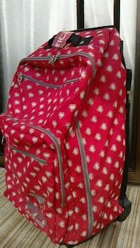 新品スーパーラヴァーズ☆キャリーバッグスーツケース収納抜群送料着払いのみ