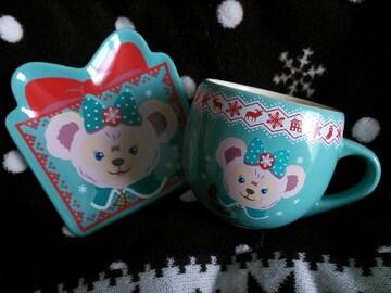 TDS☆スーベニアカップ&プレート(クリスマス)☆シェリーメイ