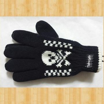 Thinsulate シンサレート 手袋 新品 メンズ ドクロ
