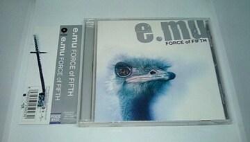 CD  FORCE of FIFTH / e.mu ■ V系ロックバンド ビジュアル系 エミュー 名盤
