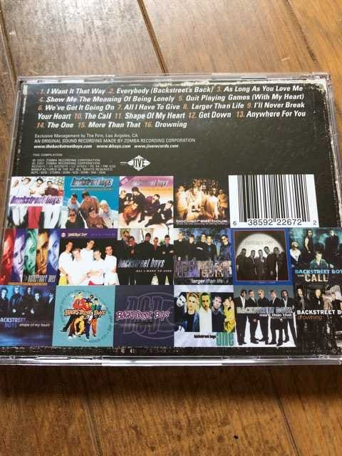 backstreet boys  Greatest Hits - Chapter One  輸入盤 < タレントグッズの