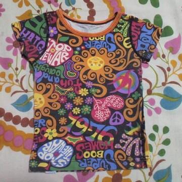 キッズBOOFOOWOO/ブーフーウーカラフル Tシャツ 90�p