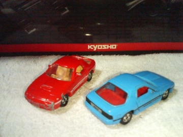 赤箱 トランスポーター マツダ サバンナ RXー7 FC3S  赤  水色  日本製 ジャンク