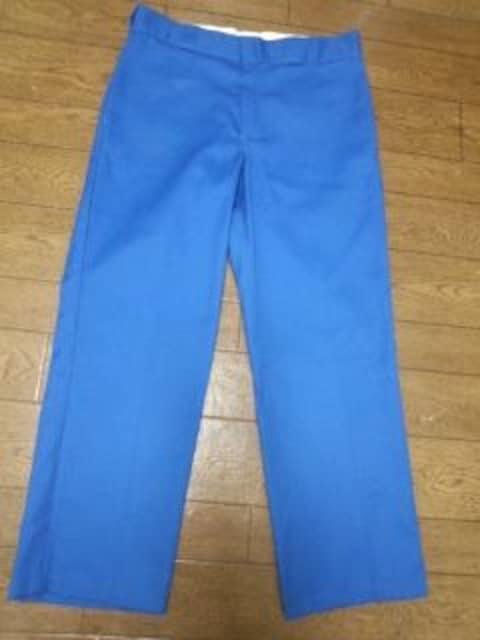 ディッキーズ874 青パンツ 32  < 男性ファッションの