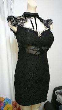 dazzy  store  ブラック レース ナイトドレス