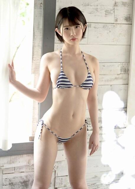 ■葵いぶき■ビキニ水着 美巨乳 クビレ腹筋(即決)18  < タレントグッズの