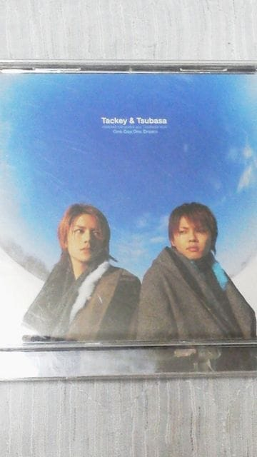 タッキー&翼『One.Day,One.Dream』CD 限定盤国内正規品中古  < タレントグッズの