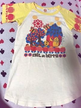 ♯MIL DE BERRY♯丈長Tシャツ130ミルデベリー ミルベリ