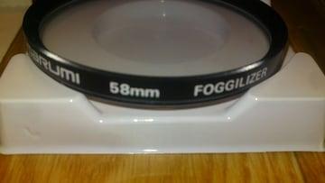 カメラ&ビデオ フィルター マルミ 58ミリ フォギー