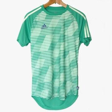 新品◆送料無料◆adidas 緑TANGO CAGEプラクティスTシャツ(О)