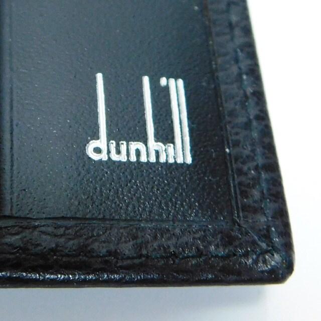 超美品 未使用dunhillダンヒル パスポートケース 黒 良品 正規品 < ブランドの